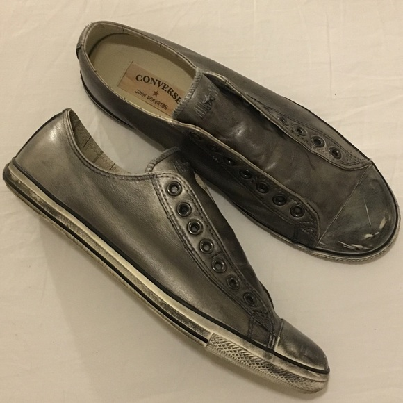 1db8748fbd3f Converse Other - Converse x John Varvatos Leather Distressed Shoes
